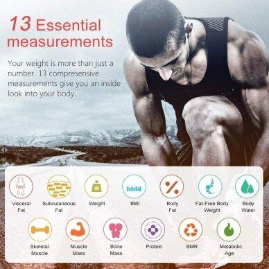 Išmaniosios INSMART kūno svarstyklės 3