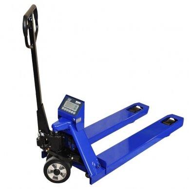 KPZ 71-9 hidraulinis vežimėlis su svarstyklėmis