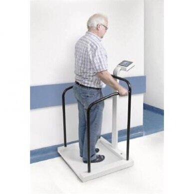 Medicininės kūno svarstyklės su turėklu Kern MTA 300kg/0,1kg ir 400kg/0,2kg 2