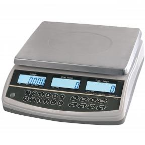 QTP-6/15/30kg. kainą skaičiuojančios svarstyklės