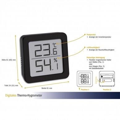 Termometras Higrometras TFA 4