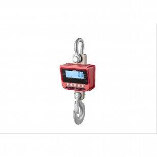 TN serijos kraninės svarstyklės 3t su Metrologine Patikra ir Bluetooth funkcija