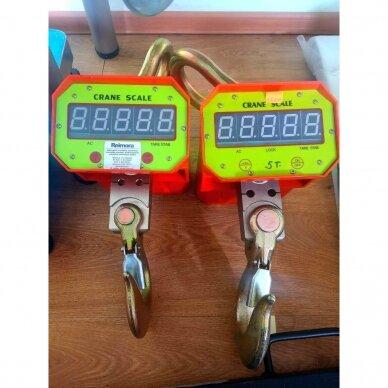 YB-752-3t pakabinamos kraninės svarstyklės iki 3000Kg.!! 2